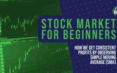 Stock Market for Beginners: how we make real profit by observing Simple Moving Average (SMA)