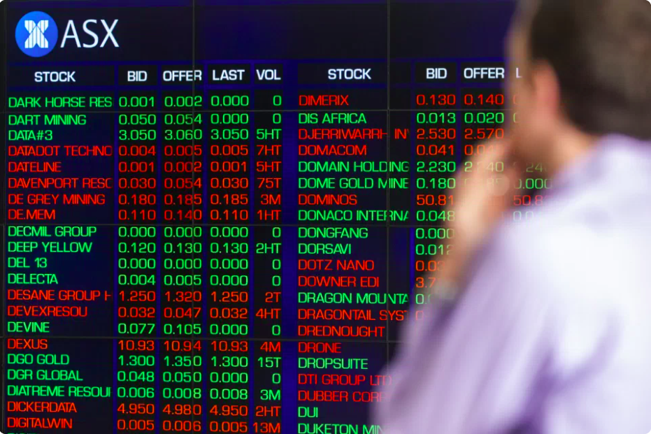 IS THE AUSTRALIAN MARKET CRASHING OR GOING UP?